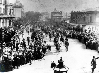 Military Parade, Valley Bridge Road, Scarborough